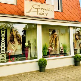 Creativ Hair Friseursalon Gnarrenburg außen